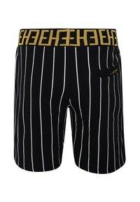 Ed Hardy - ROAR-TOUR-STRIPE SHORT - Shorts - black - 2