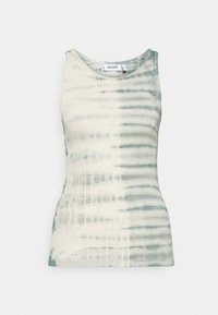 Weekday - STELLA PRINTED TANK - Toppe - dusty green/off-white - 5