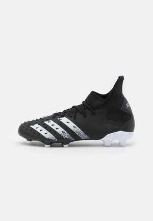 PREDATOR FREAK .2 FG - Moulded stud football boots - core black/footwear white