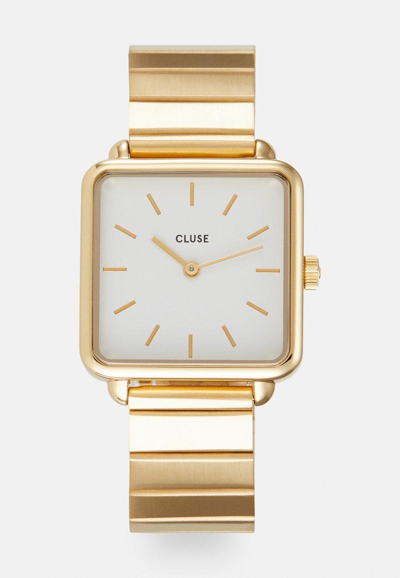 Cluse - LA TETRAGONE - Klokke - gold-coloured/white