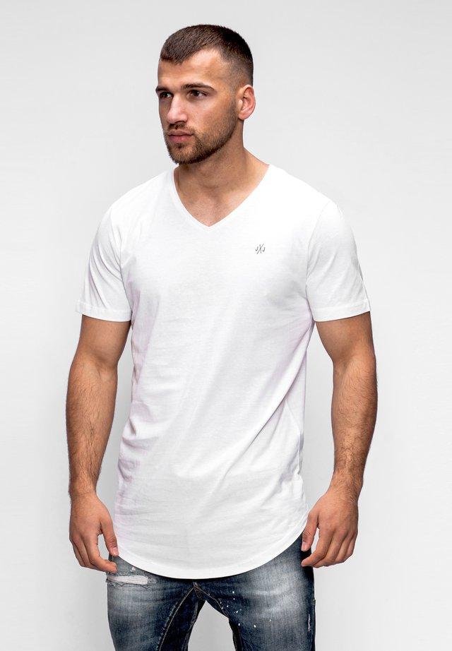 NEWRAR  - Basic T-shirt - cloud dancer