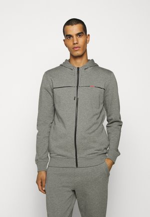 DAPIE - Zip-up hoodie - open grey