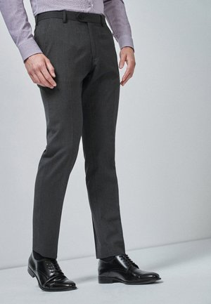 Suit trousers - mottled grey