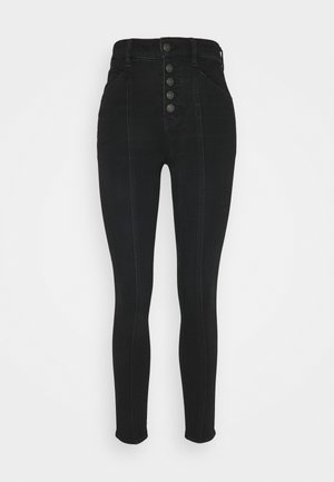 SUPER HI RISE DREAM - Jeans Skinny Fit - gunmetal