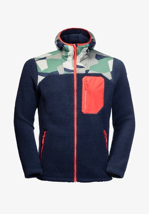 HIDEAWAY - Fleece jacket - marine