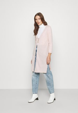 BLUSH SLUB  - Cardigan - blush