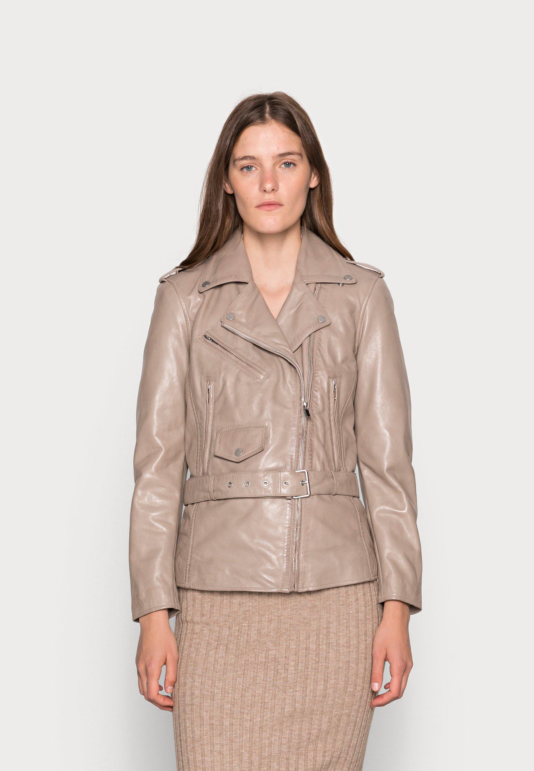 Femme THIS WAY - Veste en cuir
