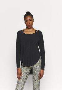 GAP - BREATHE - Long sleeved top - true black - 0