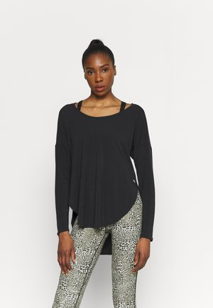 BREATHE - Long sleeved top - true black