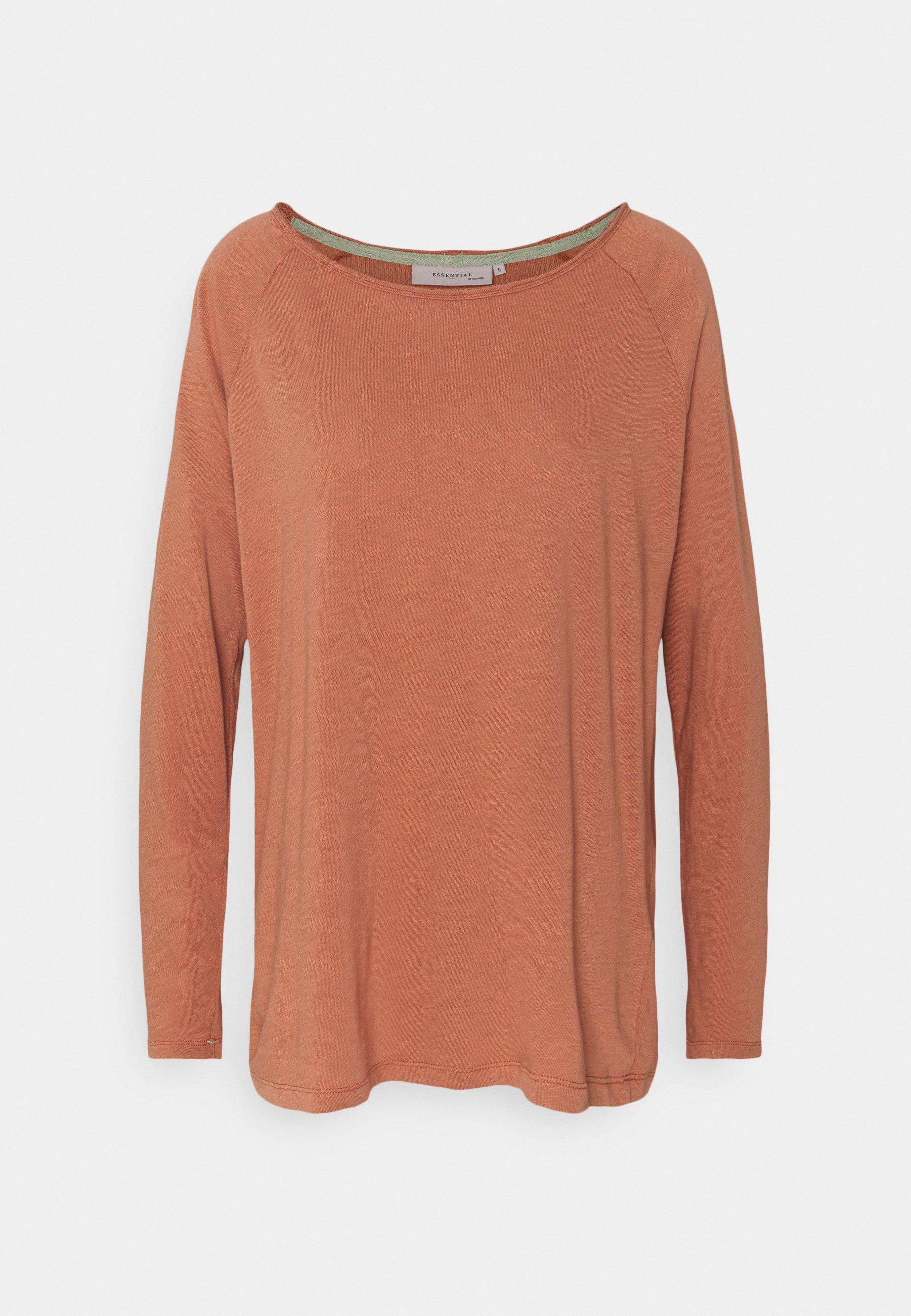 Women ESSENTIAL HEAVY SLUB - Long sleeved top