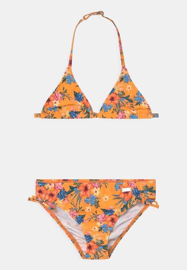 TRIANGLE MAUI SET - Bikini - yellow