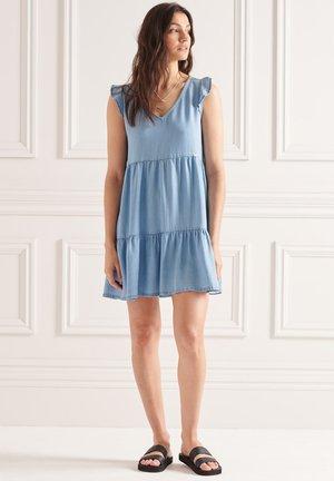 Day dress - mid wash blue