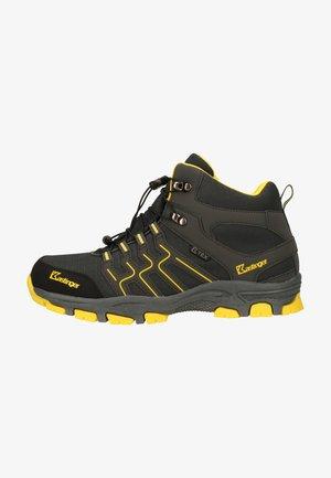 Mountain shoes - charcoal/yellow