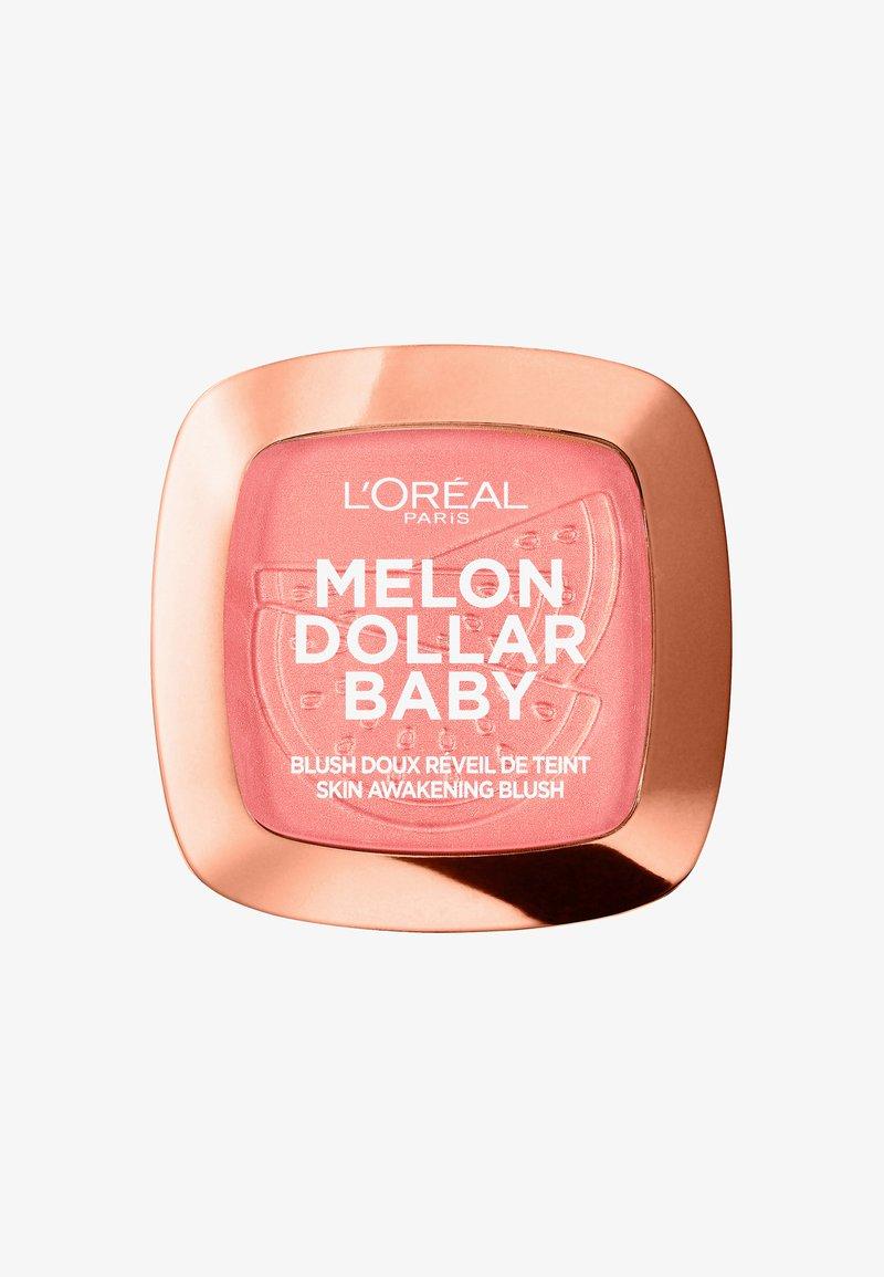 L'Oréal Paris - MELON DOLLAR BABY BLUSH - Rouge - 03 watermelon