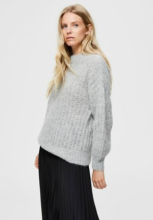 LOOSE FIT - Sweter - quicksilver