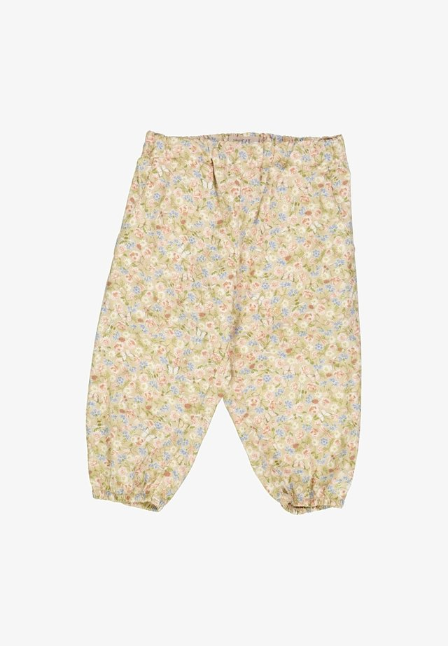MALOU - Trousers - bees and flowers
