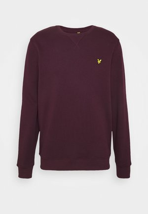 CREW NECK - Sweater - burgundy