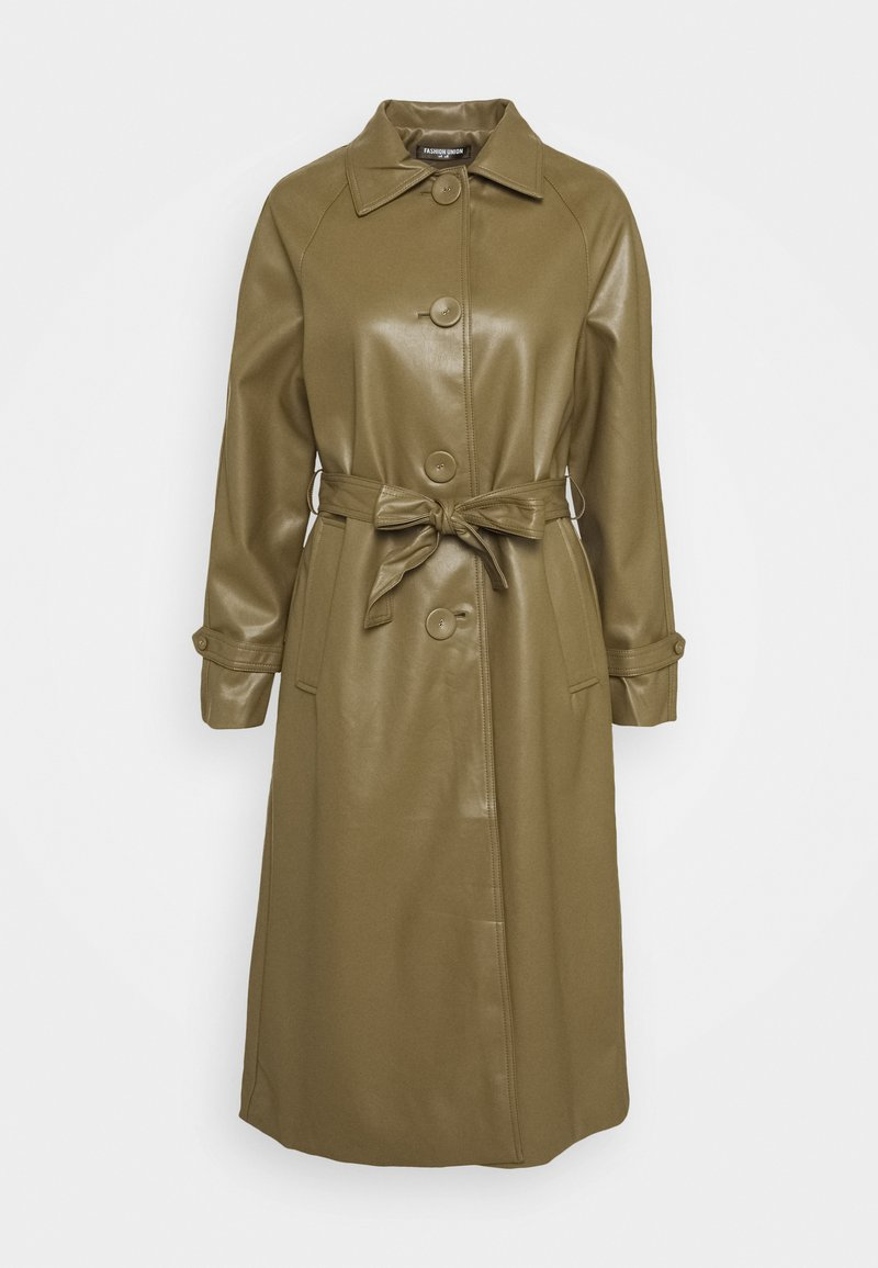 Fashion Union - MARGOT - Trenchcoat - olive