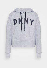 DKNY - EXPLODED LOGO HOODIE - Sweatshirt - pearl grey heather - 3