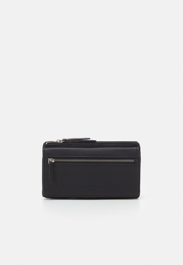 BASIC LAYLA WALLET LARGE - Lommebok - black