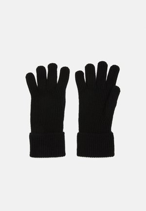 100% Cashmere Gloves  - Gloves - black