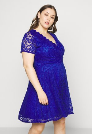 SKATER - Cocktail dress / Party dress - blue