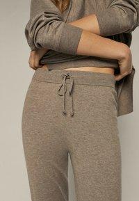 Massimo Dutti - Leggings - Trousers - beige - 2