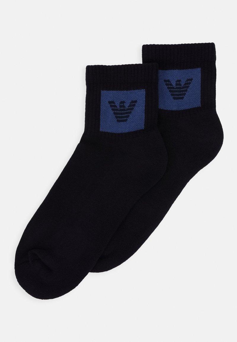 Emporio Armani - IN-SHOE SOCKS 2 PACK - Socks - blu navy