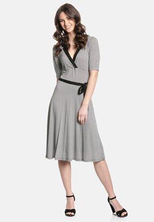A-LINIEN-KLEID SOPHIA DRESS - Day dress - schwarz allover