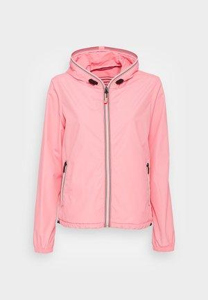 WOMENS ORIGINAL SHELL JACKET - Summer jacket - pink shiver