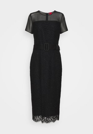 KELACY - Shift dress - black