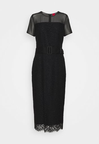 KELACY - Vestido de tubo - black