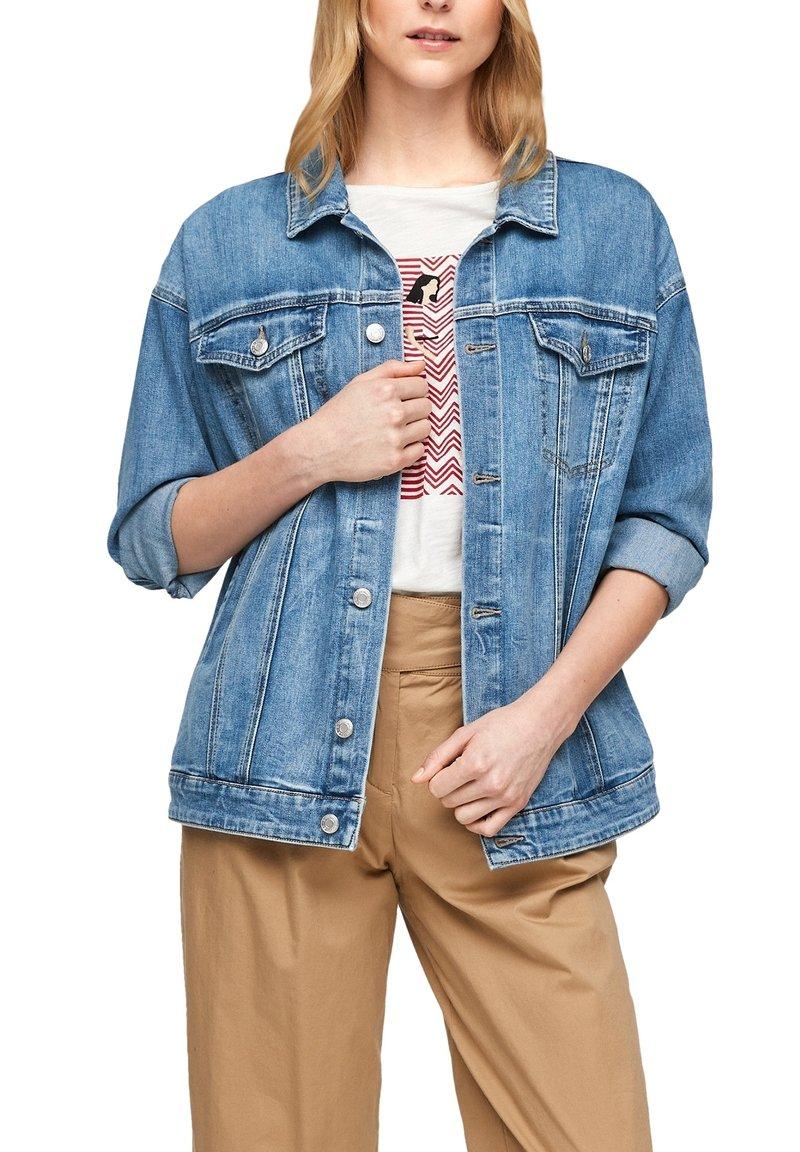 s.Oliver - Denim jacket - blue