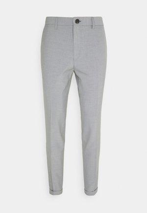 LIAM PANT - Kangashousut - light grey
