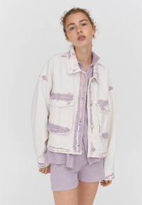 PULL&BEAR - Denim jacket - purple - 0