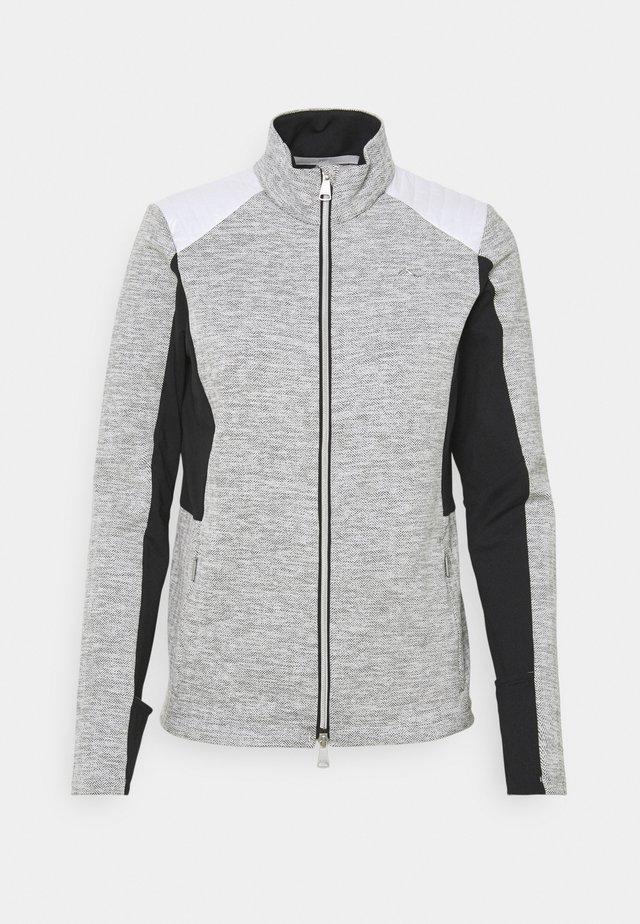 RADUN MIDLAYER JACKET - Fleece jacket - white