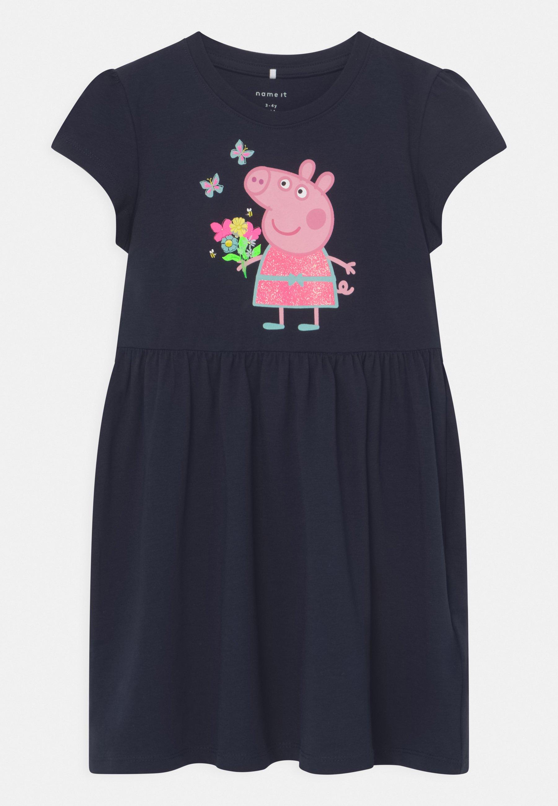 Kids NMFPEPPAPIG MARIT - Jersey dress