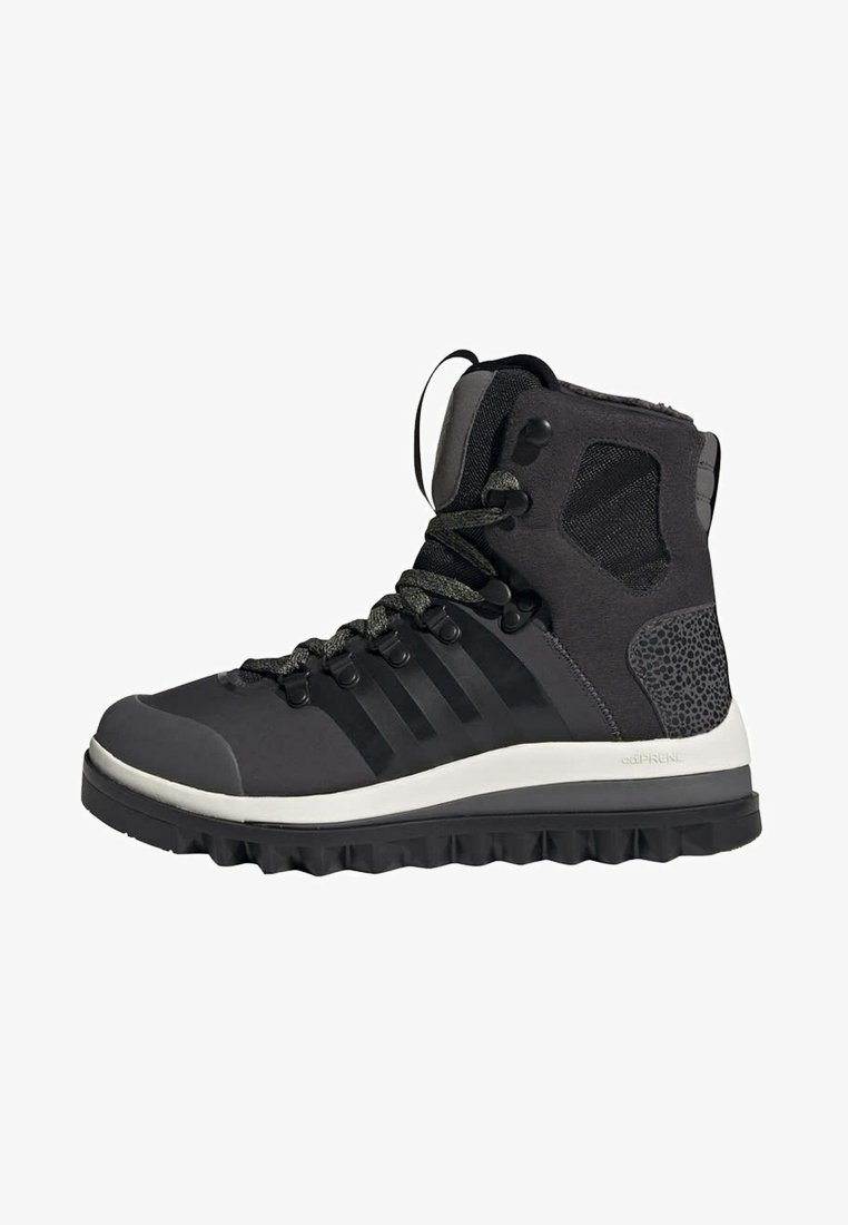 adidas by Stella McCartney - EULAMPIS MACCARTNEY OUTDOOR REGULAR SHOES MID - Winter boots - black