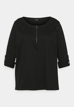 XCILLE - Long sleeved top - black