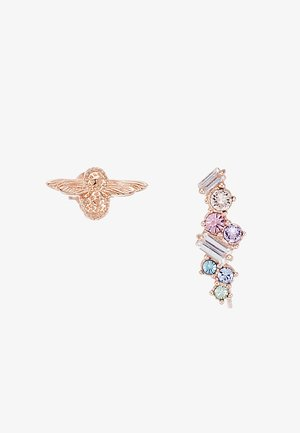 RAINBOW BEE - Earrings - roségold-coloured