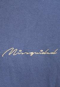 Missguided - SCRIPT DETAIL - Sweatshirt - blue - 2