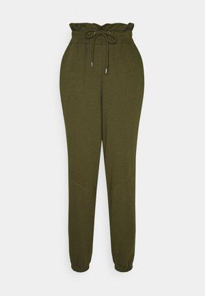 PAPERBAG WAIST JOGGER - Spodnie treningowe - olive