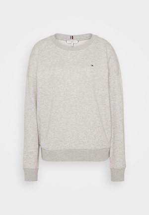 OVERSIZED OPEN - Sweatshirt - light grey heather