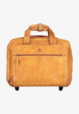 Luggage - cognac plain
