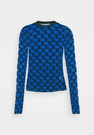 SELMA FLOCK - Long sleeved top - princess blue