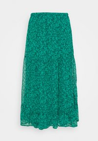 Lindex - SKIRT CLAUDIA - A-line skirt - dark green - 0