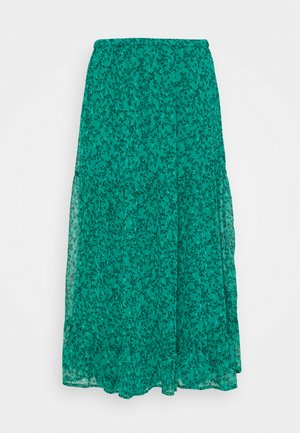 SKIRT CLAUDIA - A-line skirt - dark green