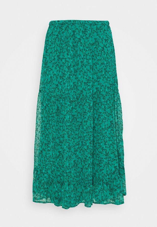 SKIRT CLAUDIA - Áčková sukně - dark green