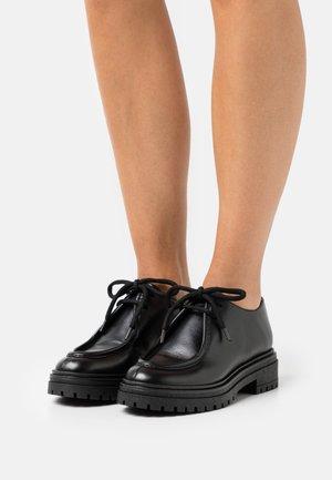 Casual lace-ups - nero