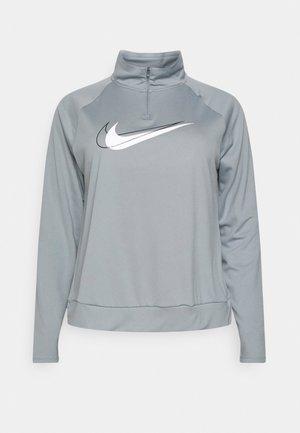 RUN PLUS - Maglietta a manica lunga - particle grey/white